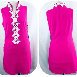 New Vince Camuto pink textured dress